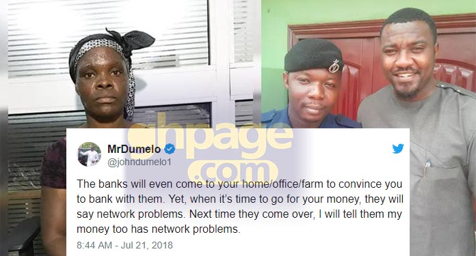 John Dumelo slams Midland Savings and Loans for inability to protect woman during attack