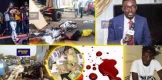 Social media users accuse Nana Appiah Mensah of masterminding Fancy-Zylofon accident for his ritual purposes