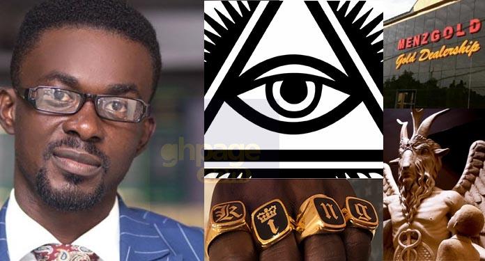 Unbelievable!!! Zylofon Media boss Nana Appiah Mensah confirms Illuminati rumours?