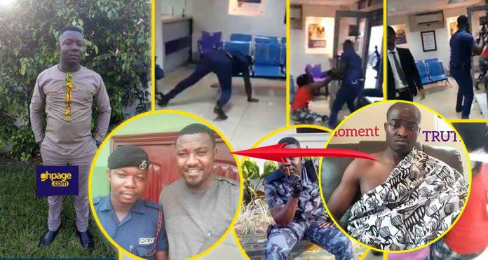 The policeman is a illuminati because he is friends with John Dumelo - Evangelist Addai