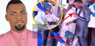 Video: Woman calls Rev Obofour the second coming of Jesus Christ after she received rice and cash from him