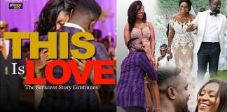 More unseen beautiful photos of Sarkodie and Tracy's marriage ceremony