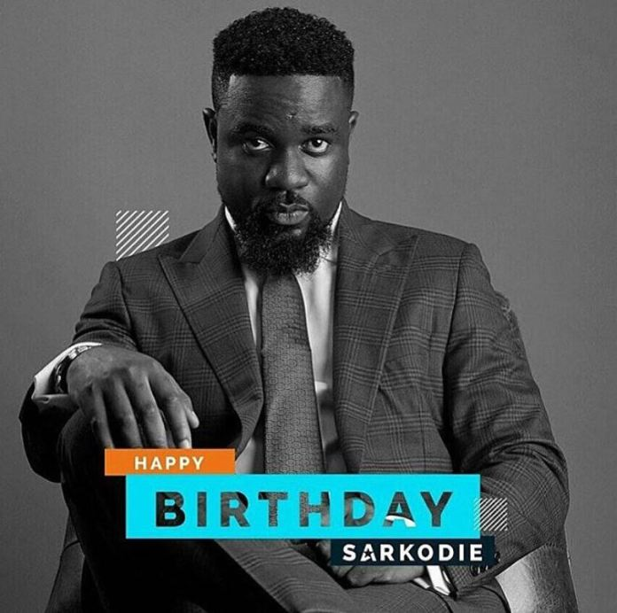 Social Media users mock Sarkodie for using a football age after he turned 30 yesterday