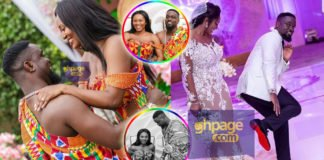 Newly released photos of Sarkodie and Tracy's wedding