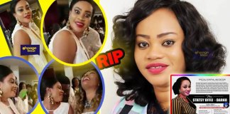 Ghanaians weep as funeral posters of Ken Agyapong's baby mama, Stacy Offei pop up [See Photos]