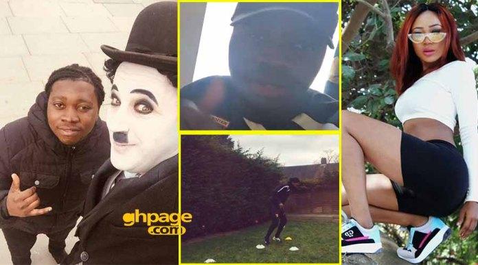 UK-based Ghanaian footballer expresses his love for Rosemond Brown