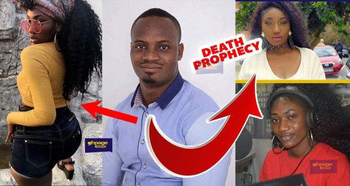 Wendy Shay will be buried in Nurse's Uniform – Prophet Prophecies Doom