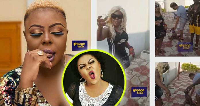 Afia Schwarzenegger names her GHC 3000 dog after her rival
