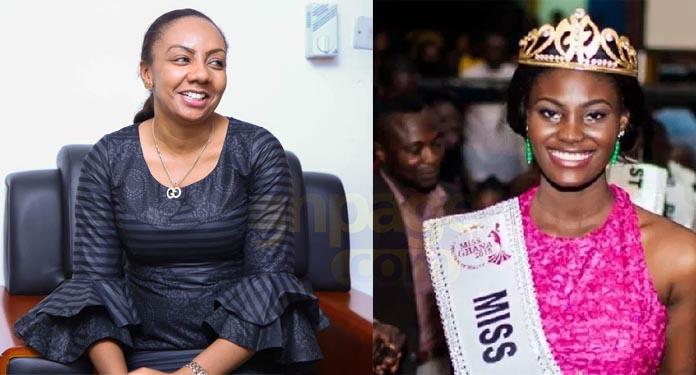 Inna Patty took me to a man's house to pimp me - Winner of Miss Ghana 2015