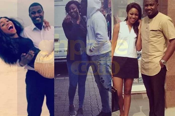 Fans attack Yvonne Nelson after sharing throwback video with John Dumelo