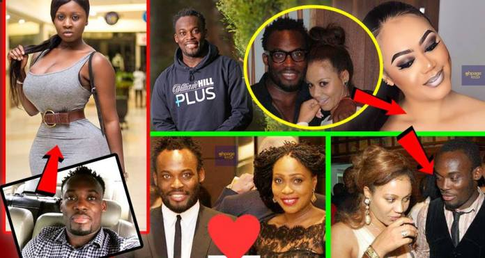 Princess Shyngle, Nadia and other hot celebs Micheal Essien has dated