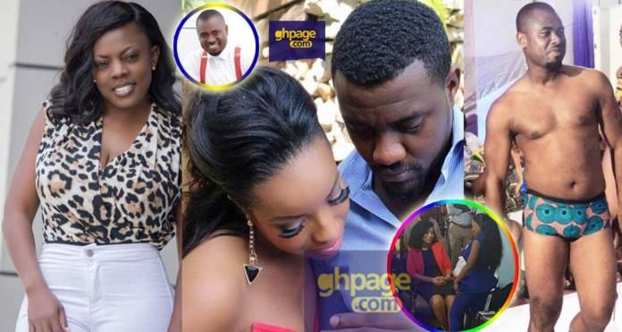 Nana Aba calls Abeiku Santana unprofessional for the fake Dumas video