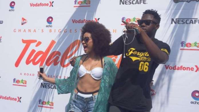 "Image result for ""I'm no longer in a relationship"" – Sister Deborah confirms break up with Medikal"