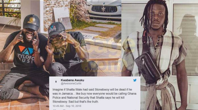 Shatta Wale's official photographer joins beef with Stonebwoy