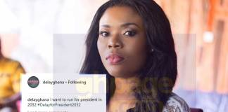 Delay reveals she would contest for President in 2032 elections
