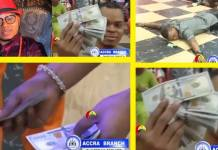 Angel Obinim flaunts $5000 physical cash in Church
