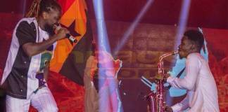 Samini shakes up Glofest with massive performance