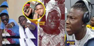 Shatta Wale's brother reveals who said Stonebwoy killed his mother