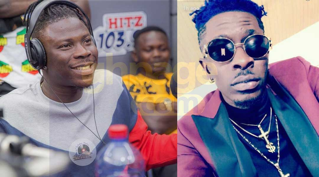 Stonebwoy - Featuring everyone in the music industry won't make you a big star -Shatta Wale