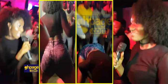 'Copying Ebony'-social media users to Wendy Shay in a recent performance
