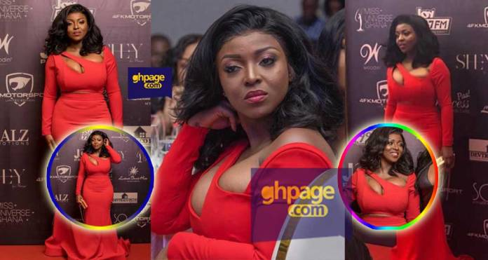 Yvonne Okoro breaks the internet with a wild red dress she wore to the Miss Universe finals [See]
