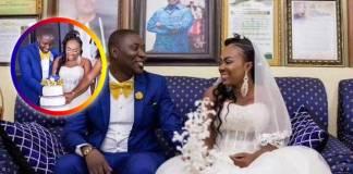 Beautiful moments from UTV's Afia Akyere's wedding ceremony