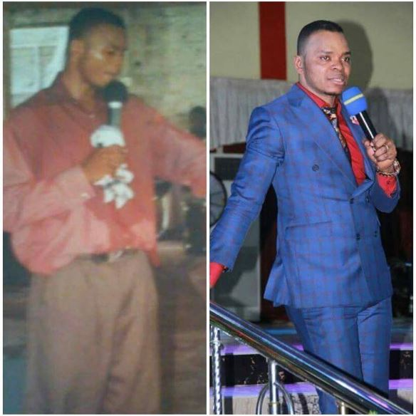 An epic throwback Photo of Angel Obinim sets social media ablaze