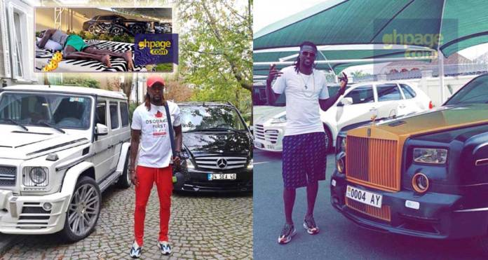 Rolls Royce,Range to Benz;Take a look inside the luxurious cars owned by Emmanuel Adebayor
