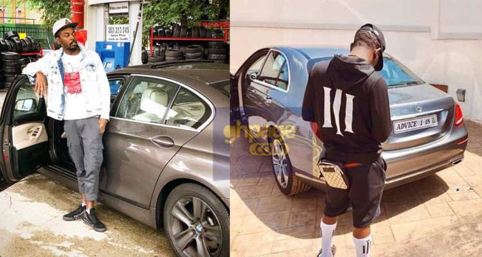 Kwaw Kese teases Shatta Wale with his GH¢200K BMW