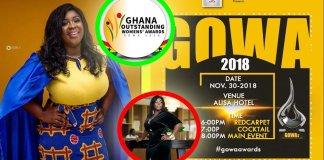 Maame Serwaa nominated for GOWA awards 2018