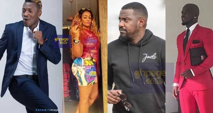 From John Dumelo, Buju Banton to Stephen Appiah - Here is the tall list of rich men Nina Atala, Asamoah Gyan's incoming wife has allegedly dated [+Photos]
