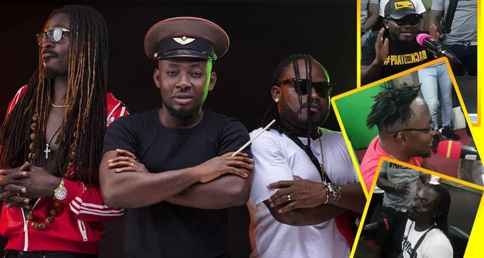 Praye group are finally back,sings together at Peace Fm