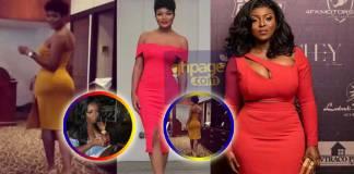 Yvonne Okoro exposes the source of Sandra Ankobiah's new huge booty