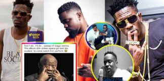 How social media users reacted to Sarkodie's 'advice' to Shatta Wale