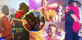 """Shatta Wale proposes to Shatta Michy at """"REIGN"""" album launch"""