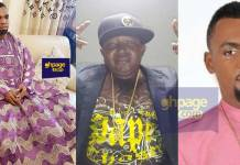 Video:Kumawood actor Wayoosi and family storms Rev.Obofuor's church to thank him for his car gift