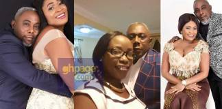 Apostle John Prah's wife reacts to wedding photos of Nayas & John Prah