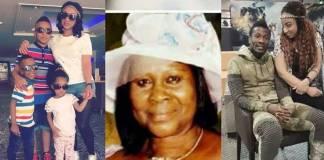 Asamoah Gyan sends message to late mum