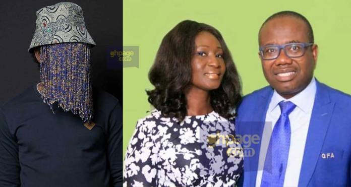 Nyantakyi's wife 'cries' on TV: Narrates how her husband was trapped