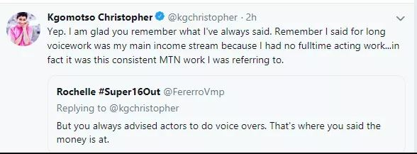 Meet the talented voice artist behind the customer care voice on MTN