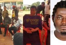 Kumawood stars led by Bill Asamoah visit late Abass' family