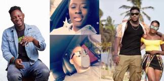 Medikal turns Fella Makafui's driver after ex-boyfriend seized her cars