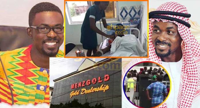 Sad: Very rich Menzgold customer Left to die on his hospital bed; Unable to pay bills [Audio]