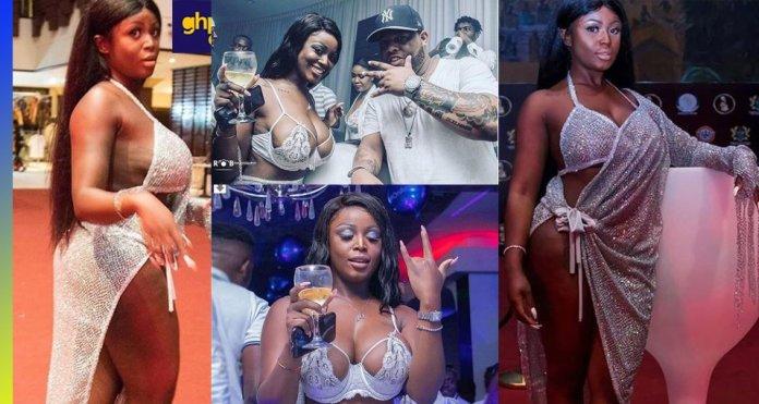 AFRIMA 2018: Nina Richie half-nak£d dress causes confusion on red-carpet