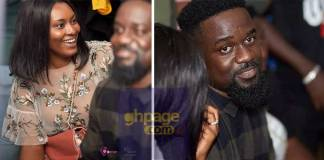Sarkodie steps out with Tracy Sarkcess in style