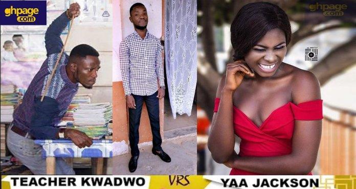 Teacher Kwadwo interviews Yaa Jackson on her recent ravings