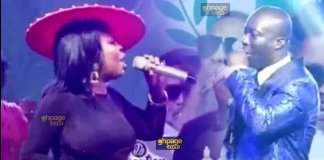 Afia Schwarzenegger swerves Prophet Kumchacha at Okay Fm anniversary party