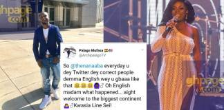 "Archipalago mocks Nana Aba Anamoah after she ""Gbaa"" on Rapperholic stage"