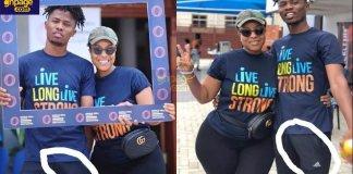 Joselyn Dumas causes Kwesi Arthur's di¢k to slip in latest photos