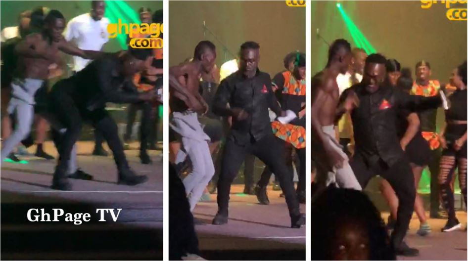 Nkansah Lilwin and Countryman Songo spoil the stage in London